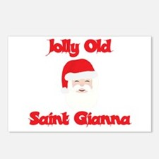 Jolly Old Saint Gianna Postcards (Package of 8)