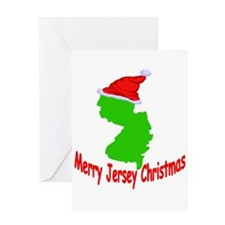 Merry Jersey Christmas Greeting Card