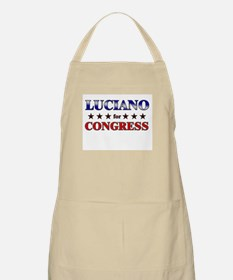 LUCIANO for congress BBQ Apron