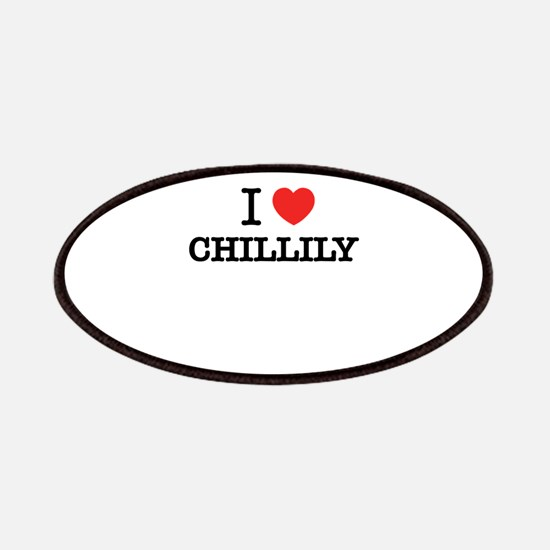 I Love CHILLILY Patch