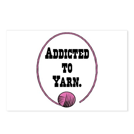 Addicted To Yarn Postcards (Package of 8)