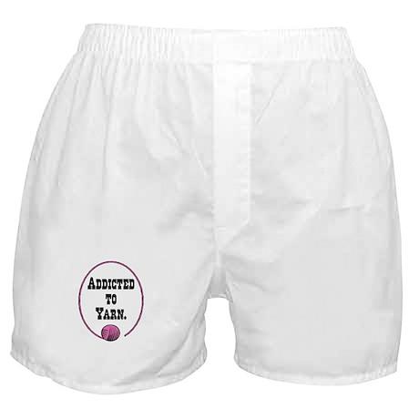 Addicted To Yarn Boxer Shorts