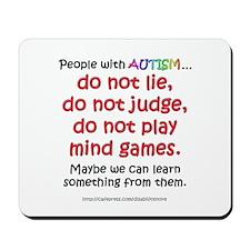 No Games (People) Mousepad
