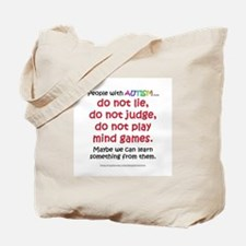 No Games (People) Tote Bag