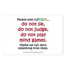 No Games (People) Postcards (Package of 8)