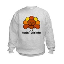 Grandma's Little Turkey Sweatshirt