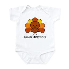 Grandma's Little Turkey Infant Bodysuit