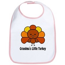 Grandma's Little Turkey Bib