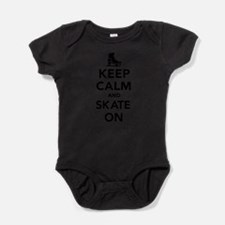Cute Speed skating Baby Bodysuit