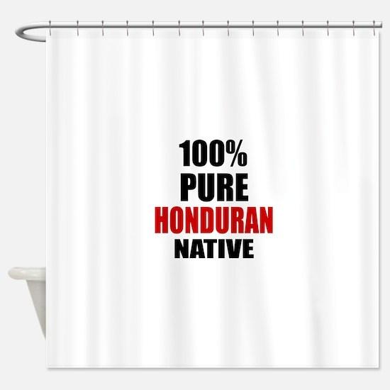 100 % Pure Honduran Native Shower Curtain