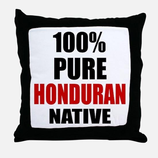 100 % Pure Honduran Native Throw Pillow