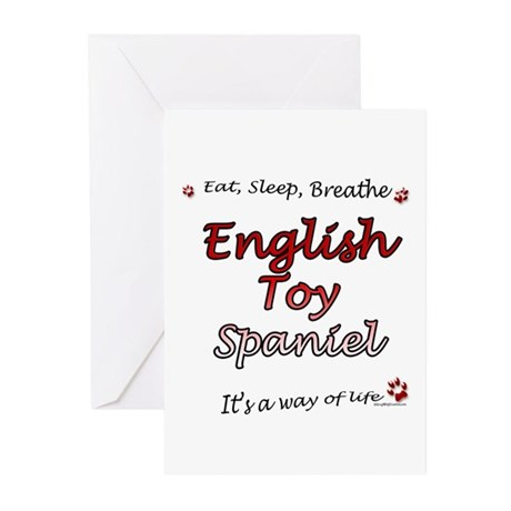 English Toy Breathe Greeting Cards (Pk of 10)