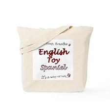 English Toy Breathe Tote Bag