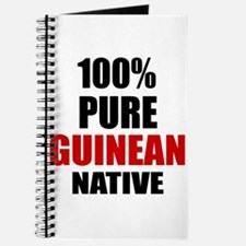 100 % Pure Guinean Native Journal