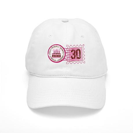 Birthday Stamp 30 Cap