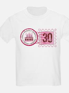 Birthday Stamp 30 T-Shirt