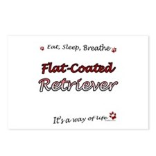 Flat-Coat Breathe Postcards (Package of 8)