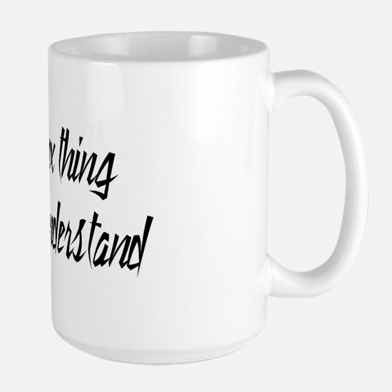 It's A Sphynx Thing Large Mug