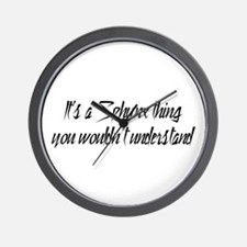 It's A Sphynx Thing Wall Clock