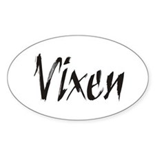 Vixen Gifts Oval Decal