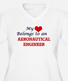 My Heart Belongs to an Aeronauti Plus Size T-Shirt