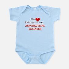 My Heart Belongs to an Aeronautical Engi Body Suit