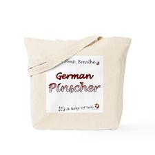 Pinscher Breathe Tote Bag