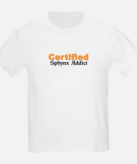 Certified Sphynx Addict T-Shirt