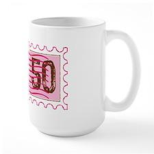 Birthday Stamp 50 Mug
