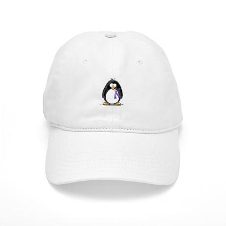 Purple Ribbon Penguin Cap