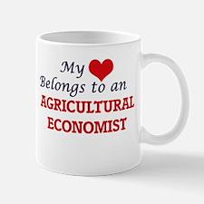 My Heart Belongs to an Agricultural Economist Mugs