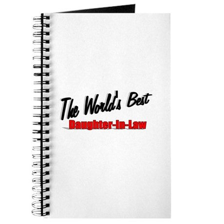"""""""The World's Best Daughter-In-Law"""" Journal"""