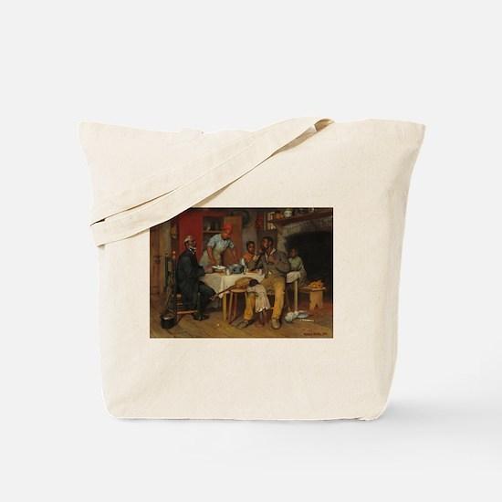 A pastoral Visit by Richard Norris Brooke Tote Bag
