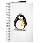 Orange Ribbon Penguin Journal