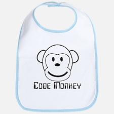 Code Monkey Bib