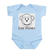 Code Monkey Infant Creeper