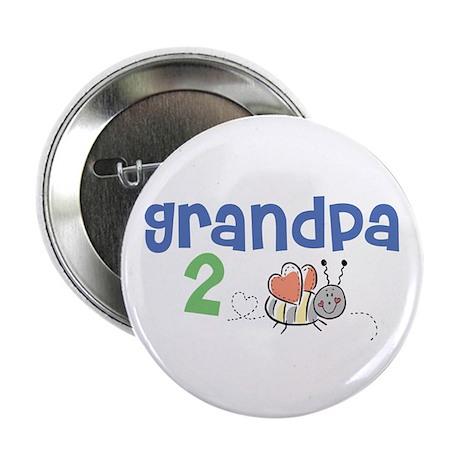 """Grandpa 2 Bee! 2.25"""" Button"""