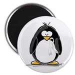 White Ribbon Penguin 2.25