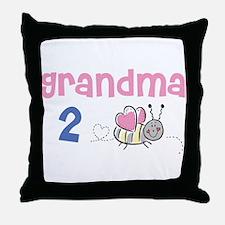Grandma 2 Bee! Throw Pillow