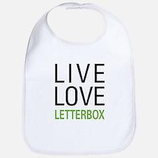 Live Love Letterbox Bib
