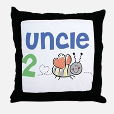 Uncle 2 Bee Throw Pillow
