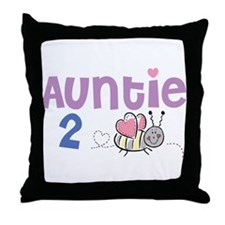 Auntie 2 Bee Throw Pillow