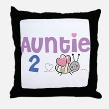 Auntie 2 Bee Throw Pillow