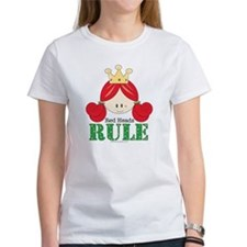 Red Heads Rule Red Head Tee