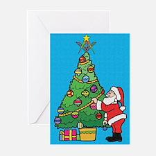 Santa's admiration Greeting Cards (Pk of 20)