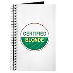 CERTIFIED BLONDE Journal