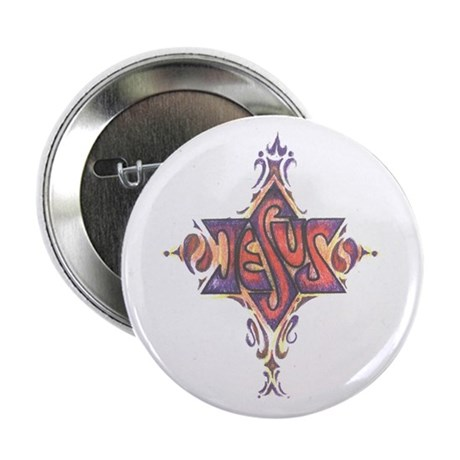 "Jesus- the Main Attraction 2.25"" Button (100"
