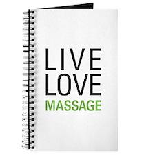 Live Love Massage Journal