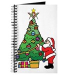 Santa and our star Journal