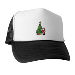 Santa and our star Trucker Hat